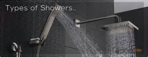 types of shower shower mixer shower shower