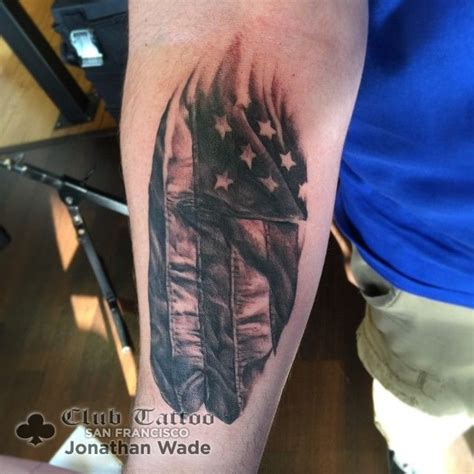 black and grey tattoo artists usa jonathanwade black and grey american flag flag usa patriotic