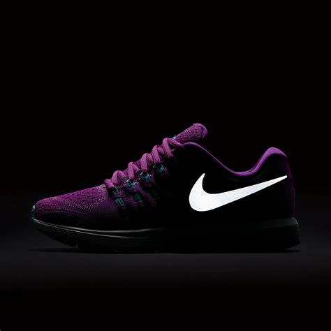 nike womens air zoom vomero 11 running shoes purple