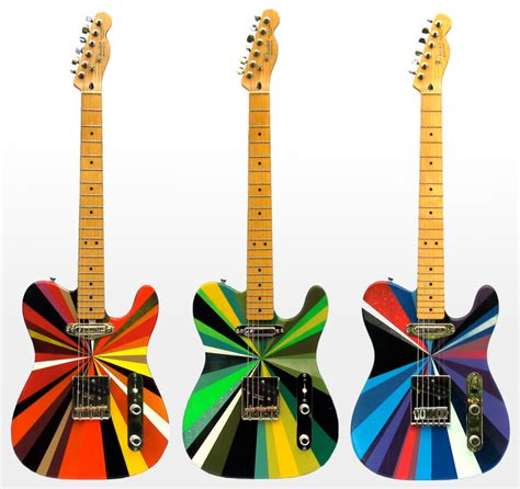 design effect guitar if it s hip it s here archives colorful hand painted