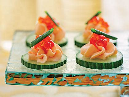 canap駸 recipe canape recipes myrecipes