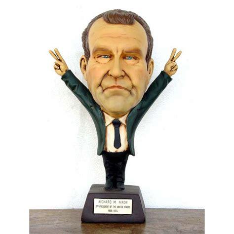 bobblehead urns richard nixon statue richard nixon statue