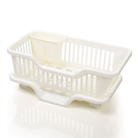 kitchen sink drainer tray dish drainer with drip tray for kitchen sink rack