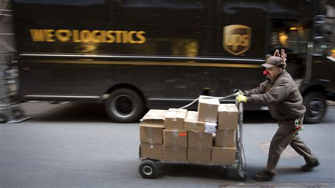 Delivery Driver by Apologies Promises From Ups And Fedex About Delivery Delays Ideastream