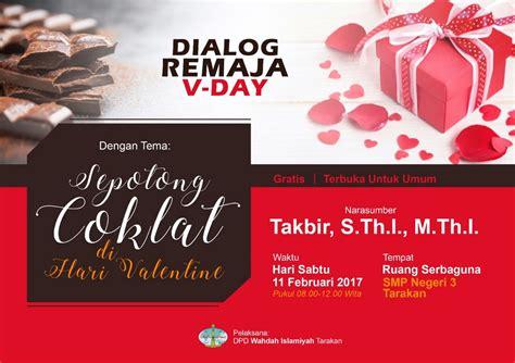 Dialog Remaja dialog remaja sepotong cokelat di hari wahdah tarakan