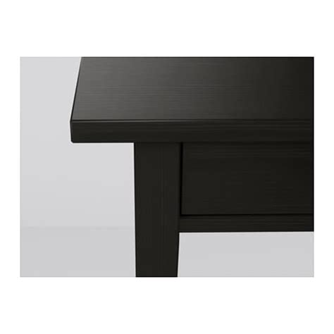 Black Brown Bedside Table Hemnes Bedside Table Black Brown 46x35 Cm Ikea