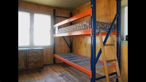 homemade bunk beds d i y biggest badest bunkbed cheap free info youtube