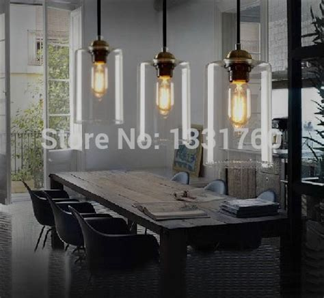 Modern Pendant Lighting For Dining Room Dining Room Living Room Bar Pendant Light Modern Glass Pendant L Vintage Bulb Modern