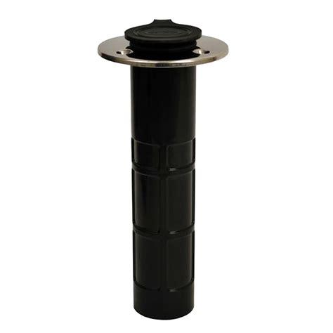 flush mount l holder attwood hybrid rod holder 0 degree flush mount ebay