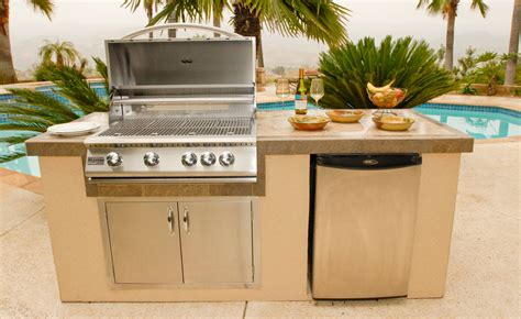 outdoor bbq island kits triyae com backyard kitchen kits various design