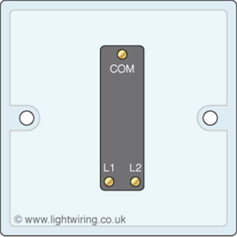 single 2 way light switch circuit diagrams light