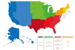 미국의 지역들 주한미국대사관 및 영사관