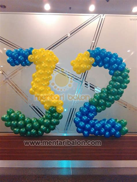 Harga Balon Angka Besar by Dekorasi Balon Angka Mentari Balon Pusat Jual Balon Gate