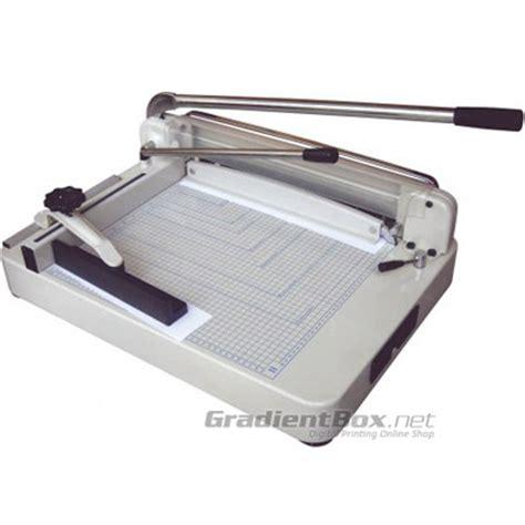 Dan Gambar Mesin Pemotong Kertas Mesin Potong Kertas Manual 868 Gradientbox Net