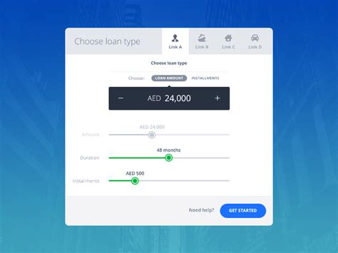 bank psd bank loan widget free psd free psd file