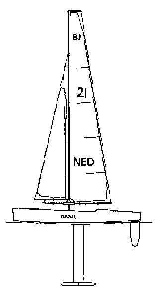 nvm 10 08 020 basic jolle r c zeilboot voor beginners - Zeilboot Voor Beginners