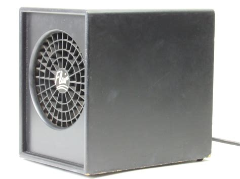 flair air purifier by ecoquest fresh living air ozone cleaner black ebay