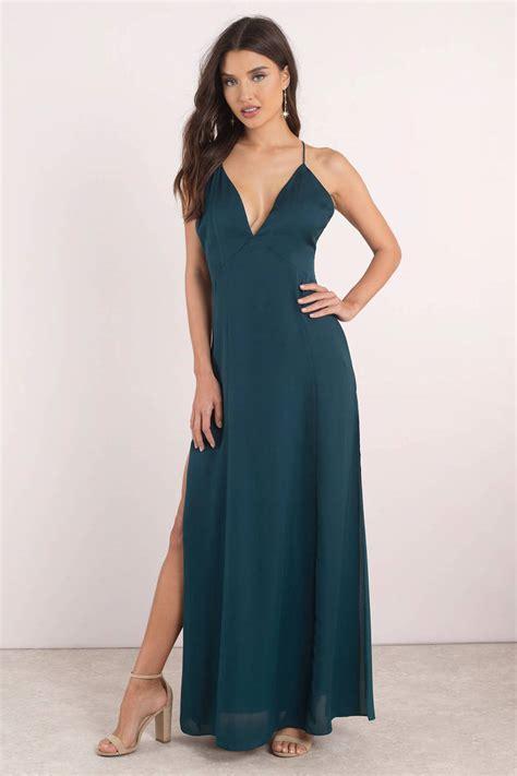 Dress Maxi Dress merlot low back maxi dress 39 tobi us