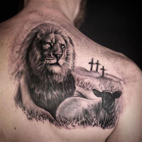 lion cross tattoo 30 simple cross tattoos design ideas for