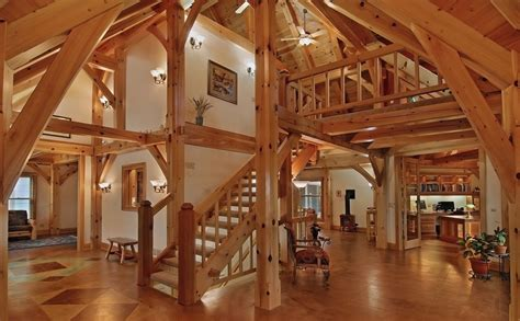 custom timber frame home design construction minnesota