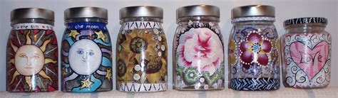 Painting Jars by Simple Glass Painting Ideas For Recycled Jars Lynda Makara