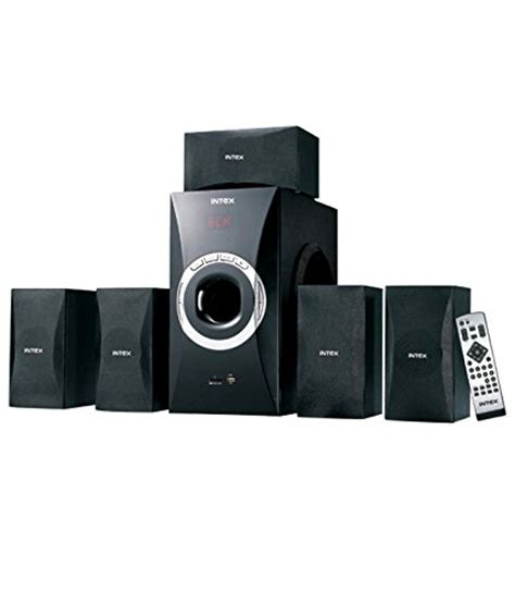 intex it4800w 5 1 speaker system review intex it4800w 5 1