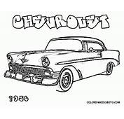 Chevy Coloring Pages  Home