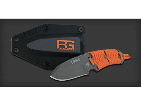 gerber switch blade gerber grylls paracord fixed blade knife survival