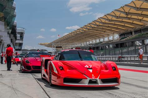 first ferrari race car gallery the first ferrari racing days event in malaysia