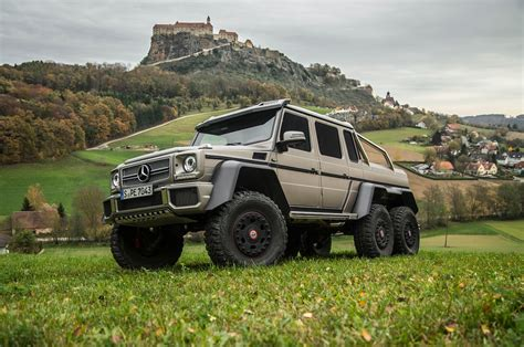 Mercedes G63 Amg 6x6 by 2014 Mercedes G63 Amg 6x6 Drive Motor Trend