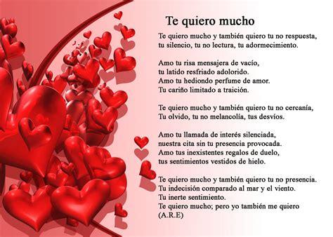 poemas hermosos con mucho amor m 250 sica y poemas de amor