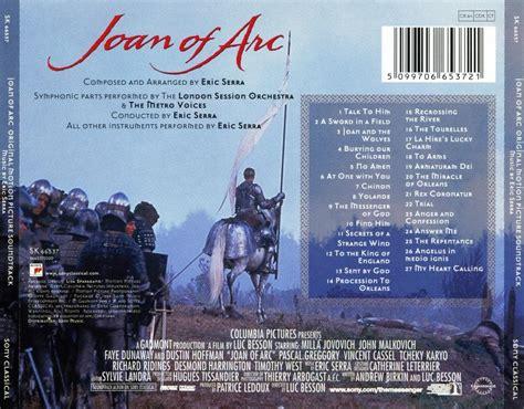 eric serra joan of arc soundtrack eric serra joan of arc original motion picture