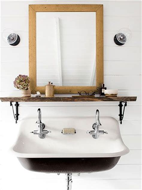Sink Shelves Bathroom Mirror Place On