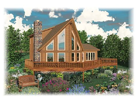 Plan 006h 0045 Find Unique House Plans Home Plans And A Frame House Plans With Garage