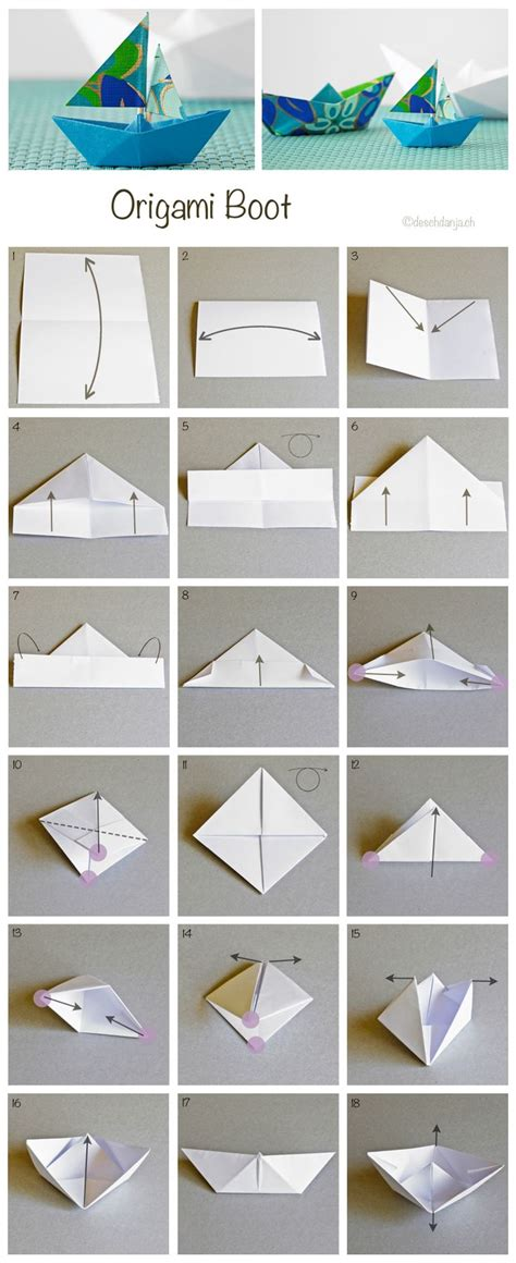How To Make House Boat With Paper - die besten 17 ideen zu papierboote auf seemann