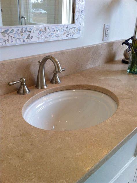 Travertine Vs Granite Countertops by Travertine Vs Granite For The Home