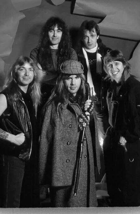Early bruce promo as sherlock holmes | Iron maiden band