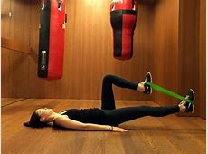 Lee Mullins' Resistance Mini Band Butt Workout Plus More ... Lengthened Muscles