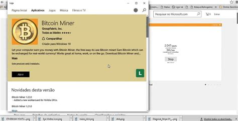 Software Mining Bitcoin 1 by Bitcoin Miner Microsoft