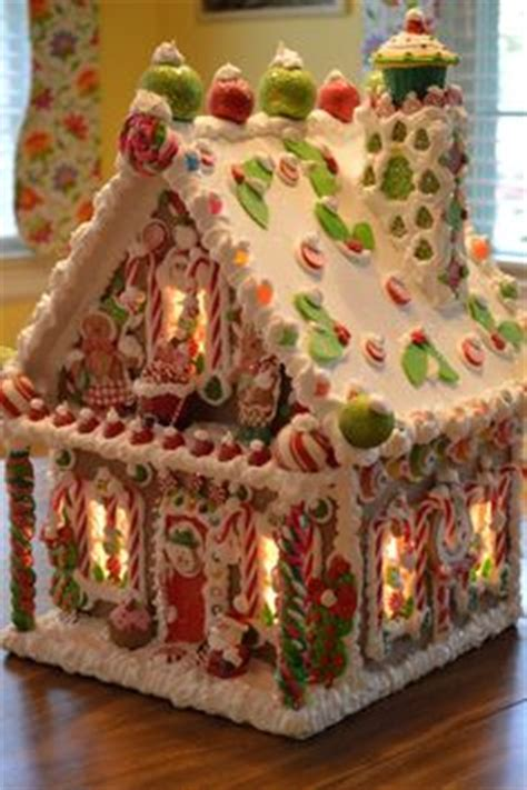 Gingerbread Houses For Sale by Mesh Garland Whimsical And