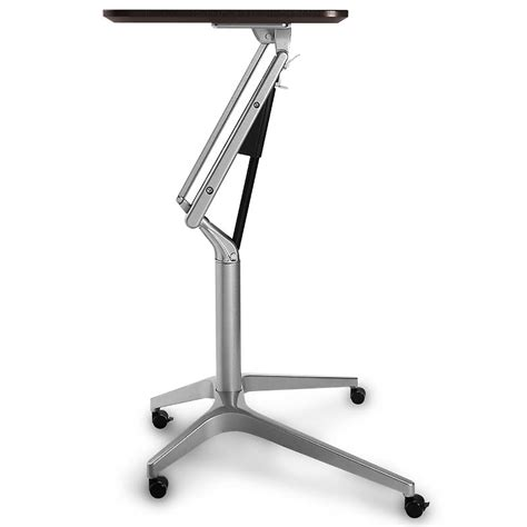Sit To Stand Rolling Workstation Levenger 174 Standing Rolling Desk