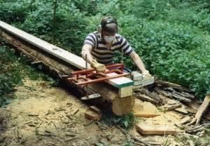 Homemade Chainsaw Mill Homemadetools Net