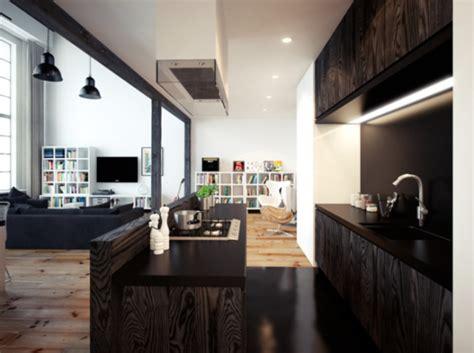 apartamento loft minimalista en blanco y negro decoraci 243 n departamentos decoracion minimalista cebril com