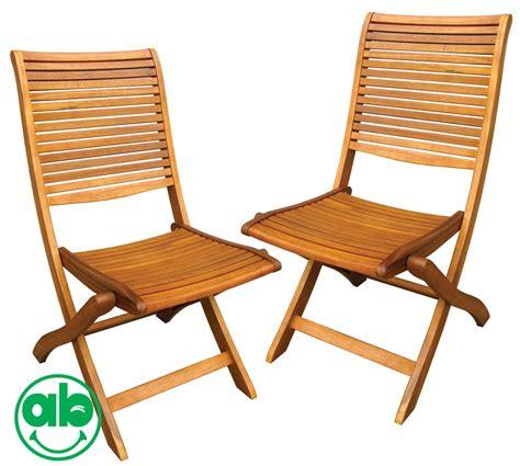 sedie giardino legno sedie in legno balau da giardino pieghevoli set 2pz senza