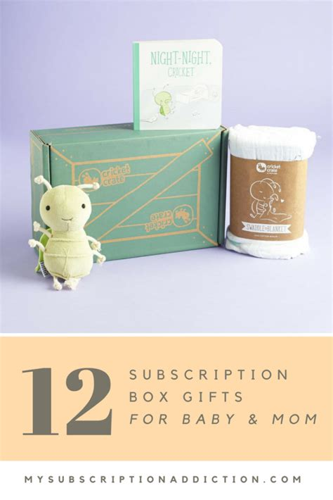 Best Gift For Baby Shower by 12 Baby Shower Subscription Box Gift Ideas For New