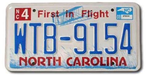 Nc Vanity Plates by And Blue State Symbols Usa