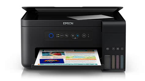 Printer Epson L Series A3 epson l4150 wi fi all in one ink tank printer ink tank