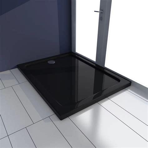 piatto doccia 70 x 90 articoli per piatto doccia rettangolare in abs nero 70 x