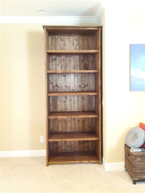 ana white  foot kentwood bookshelf diy projects