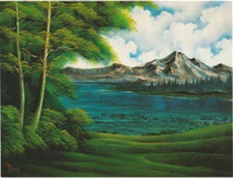 bob ross painting lake mountain lake bob ross painting woodburn